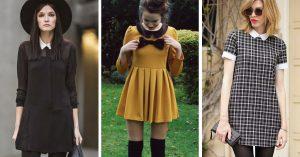 16 Maneras de vestirte como Merlina Addams en tu día a día