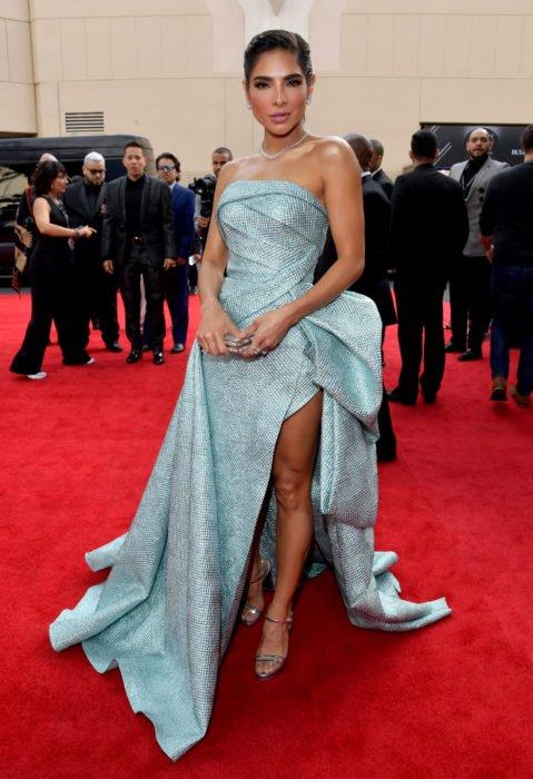 Los peores looks de los Latin Grammys 2019; Alejandra Espinoza