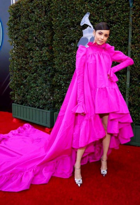 Los peores looks de los Latin Grammys 2019; Sofía Carson