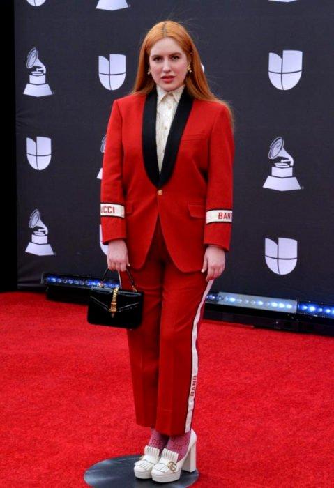 Los peores looks de los Latin Grammys 2019; Victoria Kuhne