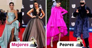Los mejores y raros looks de los premios Latin Grammy 2019