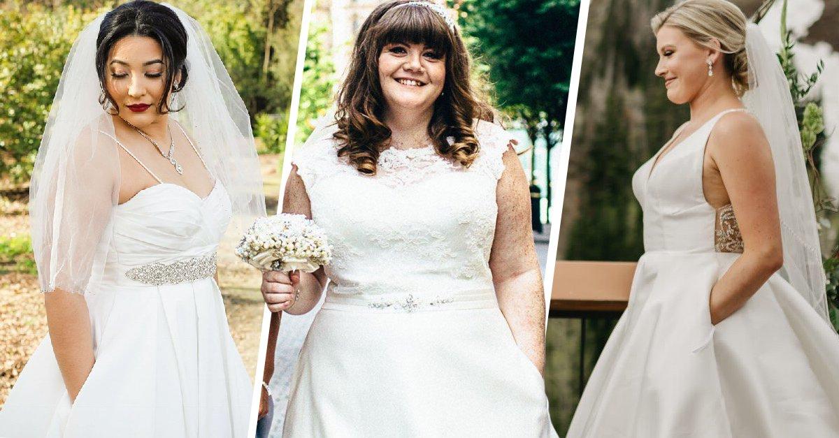 Mujeres comparten sus vestidos de novia y… ¡tienen bolsas!