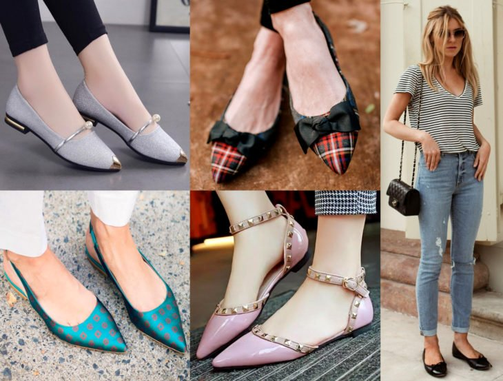 Outfits con zapatos para cada día de la semana; flats
