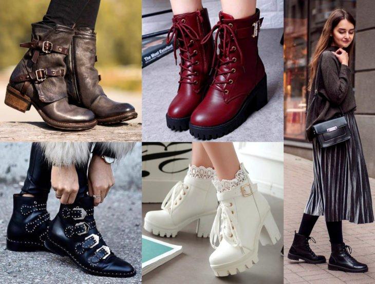 Outfits con zapatos para cada día de la semana; botas