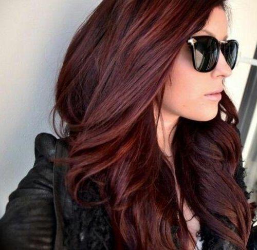 Resultado de imagen para cherry chocolate brown hair