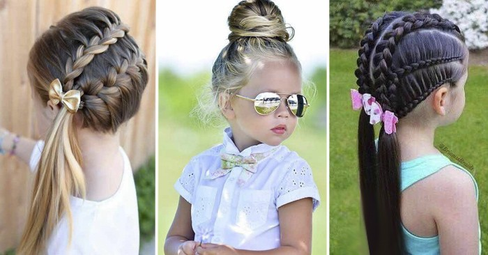31 Encantadores Peinados para Niña que tu hija deseará tener