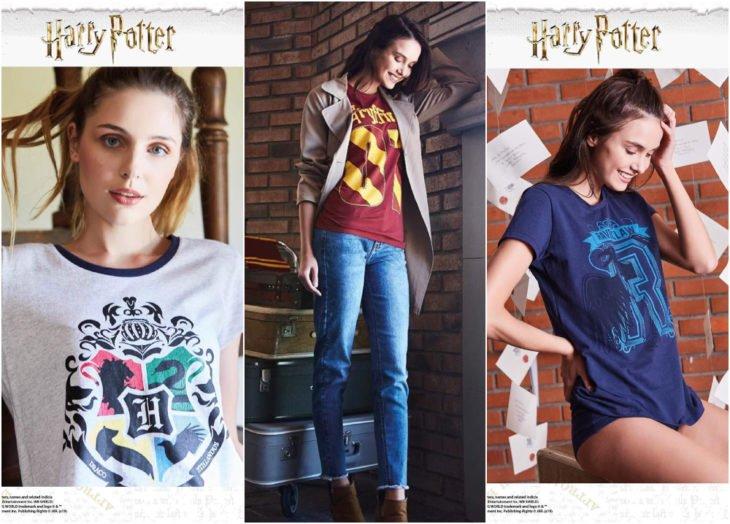 Blusas de la línea de ropa de Oporto inspirada en Harry Potter