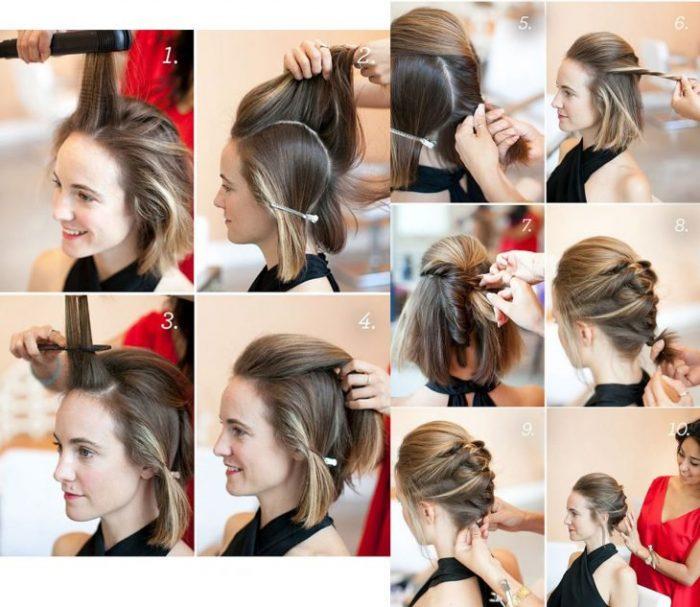 Peinados para chicas con cabello medio