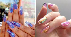 15 Diseños uñas gelatina que te harán ir por una manicura