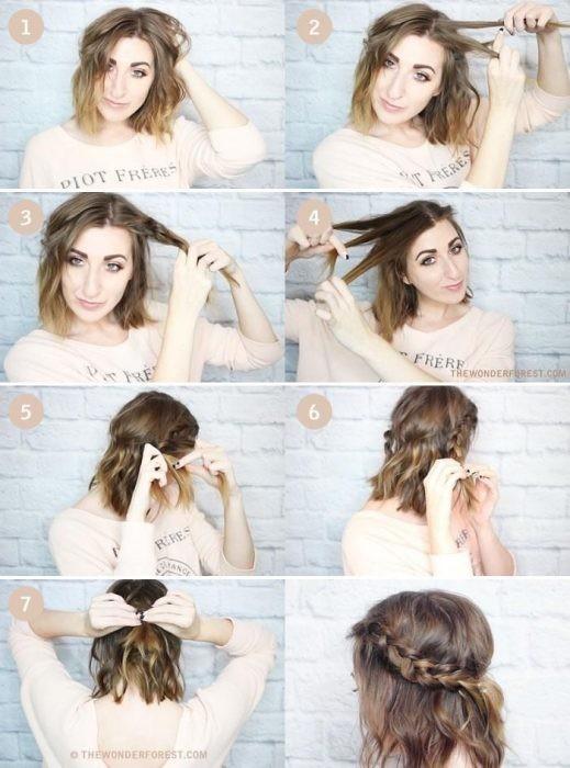 Resultado de imagen para tutoriales chica cabello medio