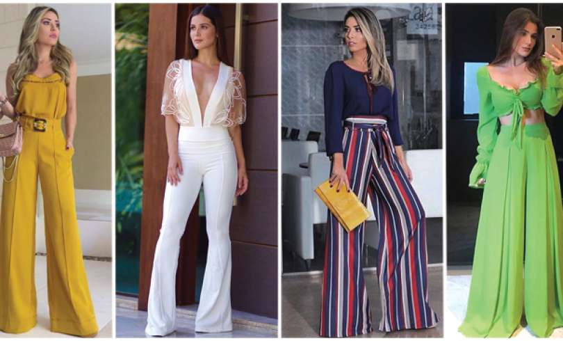 56+ Outfits con Pantalones Palazzo para lucir con Estilo (2020)