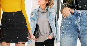 15 DIY para prendas con perlitas, lo más chic y en tendencia