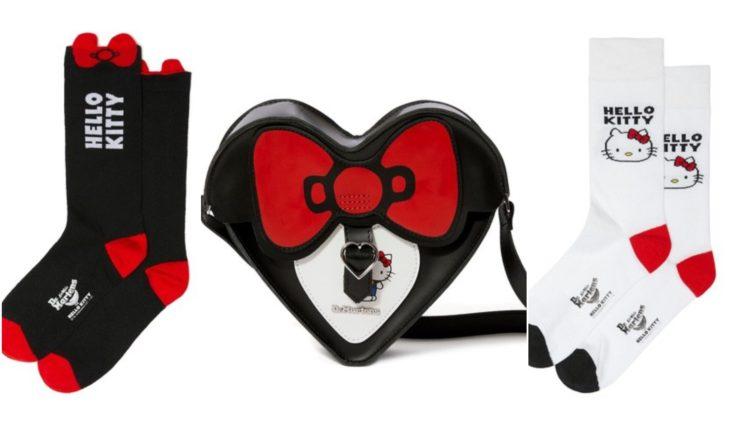 Medias y bolso Dr. Martens con detalles inspirados en Hello Kitty