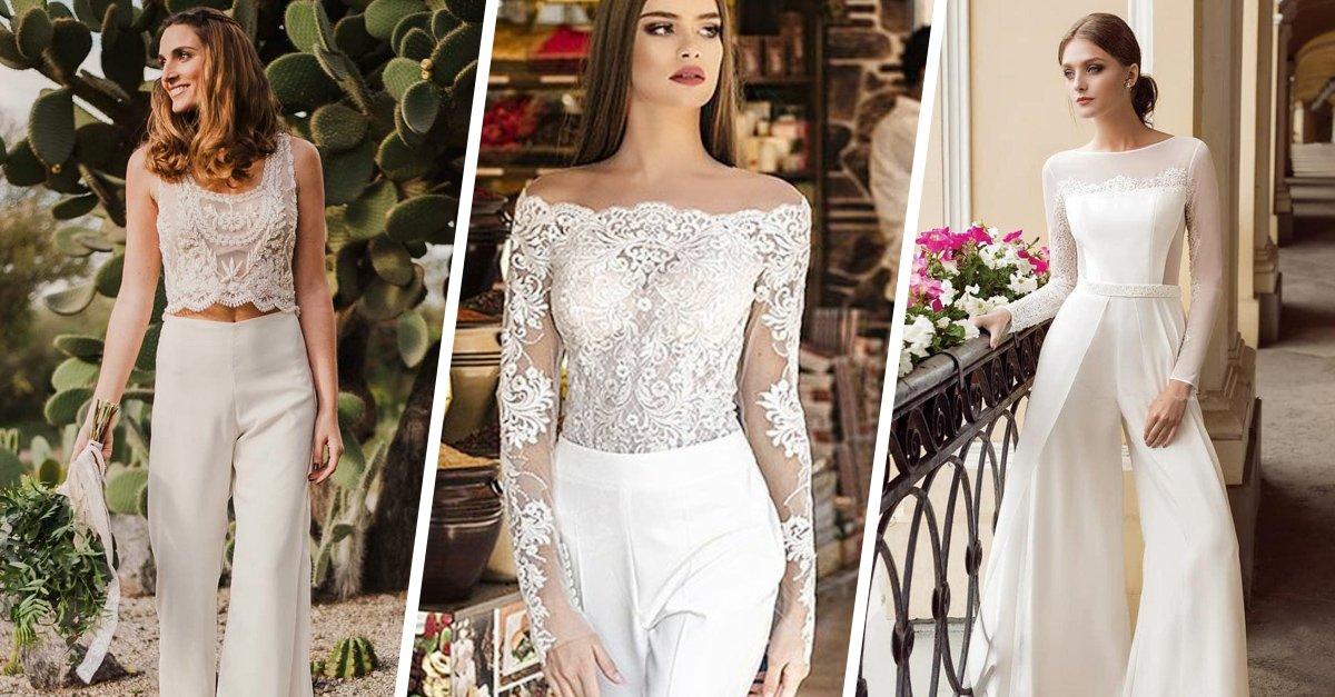 15 Jumpsuits para novia perfectos para dar el SÍ