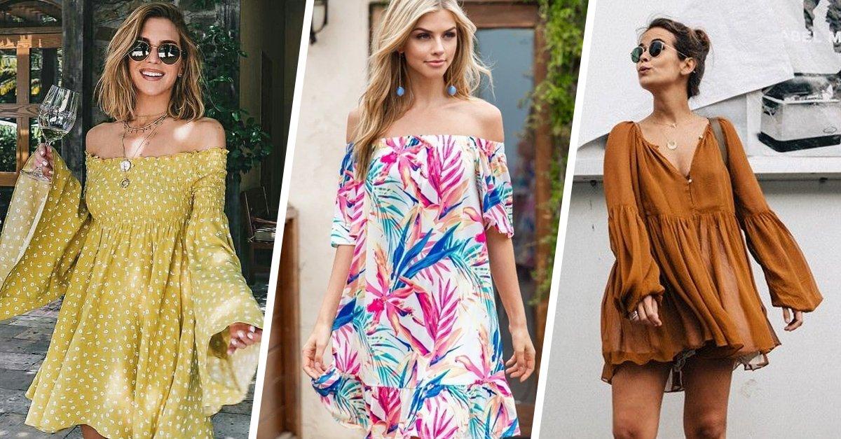 15 Vestidos holgados para sentirte libre y bastante cómoda