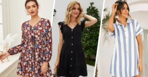 15 Vestidos que son perfectos para estar fresca en casa