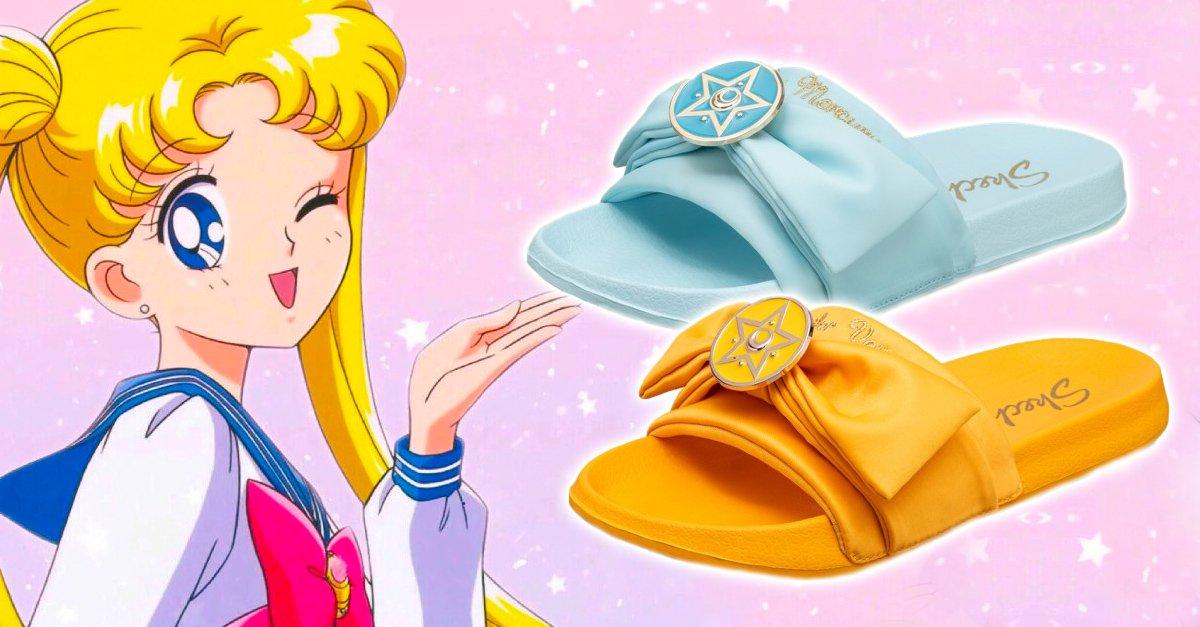 Skechers crea línea de sandalias inspirada en Sailor Moon