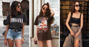 16 Outfits en negro que no te harán sudar ni te darán calor