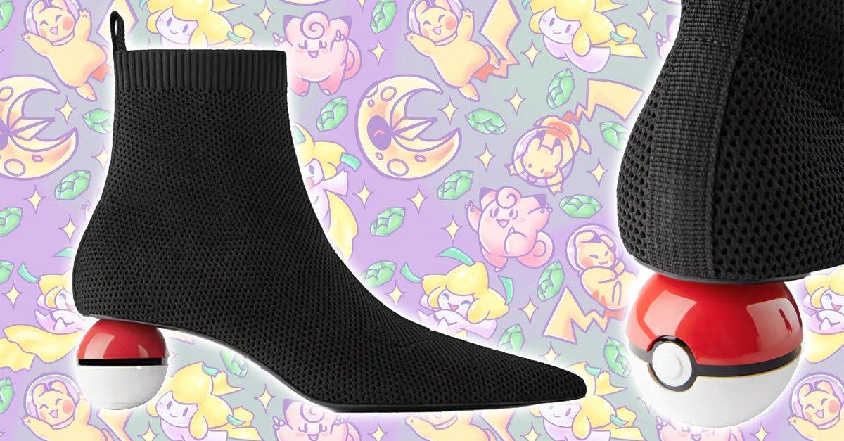 Zara y Pokémon se unen para crear los tacones de pokebola