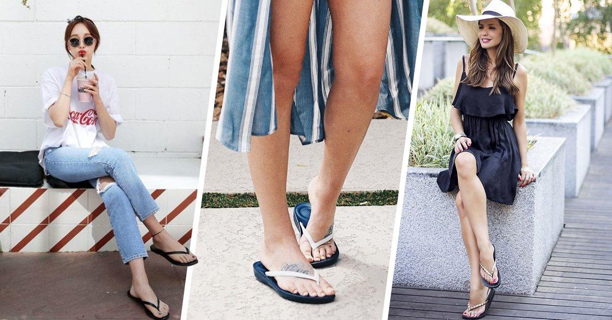 'Flip flops'; el calzado más fresco y cómodo ya está aquí