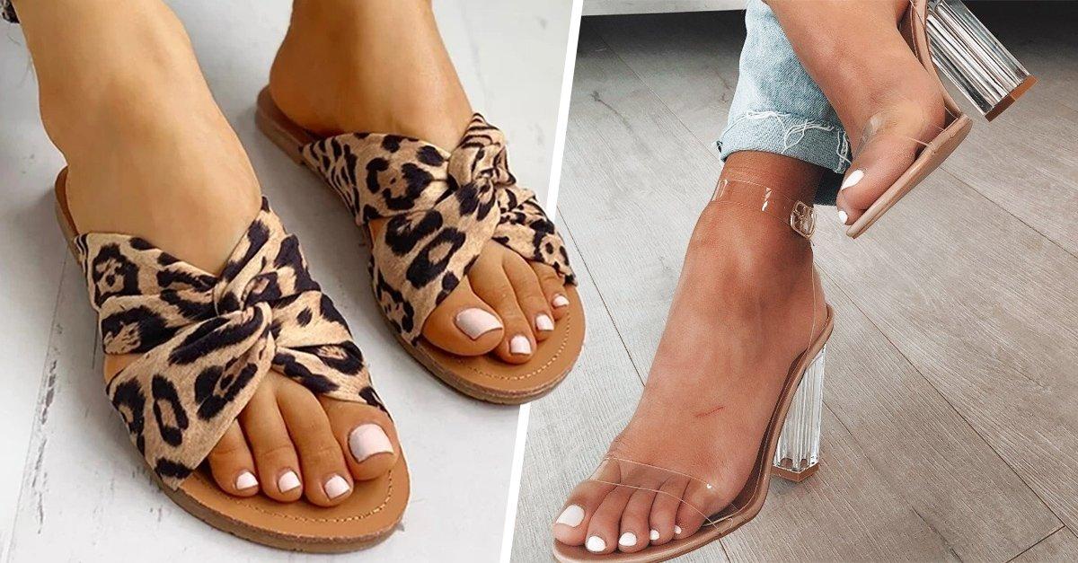 15 Tendencias en sandalias para presumir tus pies