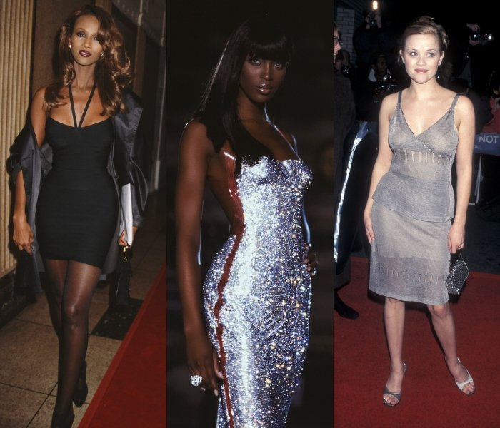 iman, naomi campbell y reese witherspoon