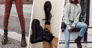 18 Outfits con botas Dr. Martens para presumir en tu día