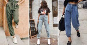 Ideas para usar 'baggy pants' aunque seas chaparrita