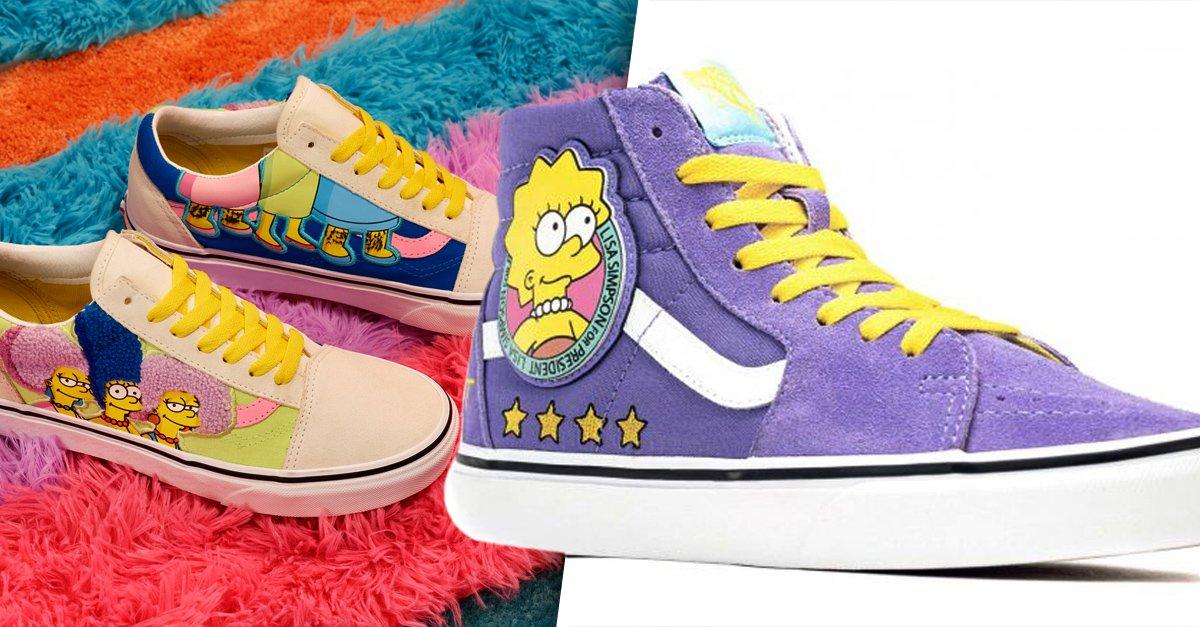 En este momento estás viendo Vans anuncia su nueva colección inspirada en Los Simpson