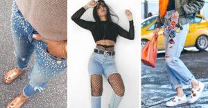 Lee más sobre el artículo 13 Maneras de salvar tus jeans rotos y seguir a la moda