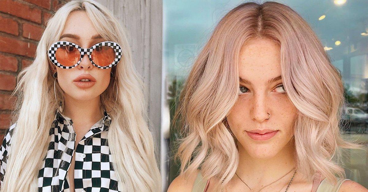 En este momento estás viendo 15 Estilos diferentes para lucir el cabello rubio platinado