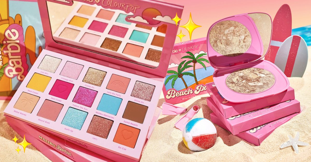En este momento estás viendo Barbie Malibú y ColourPop se unen para línea de maquillaje