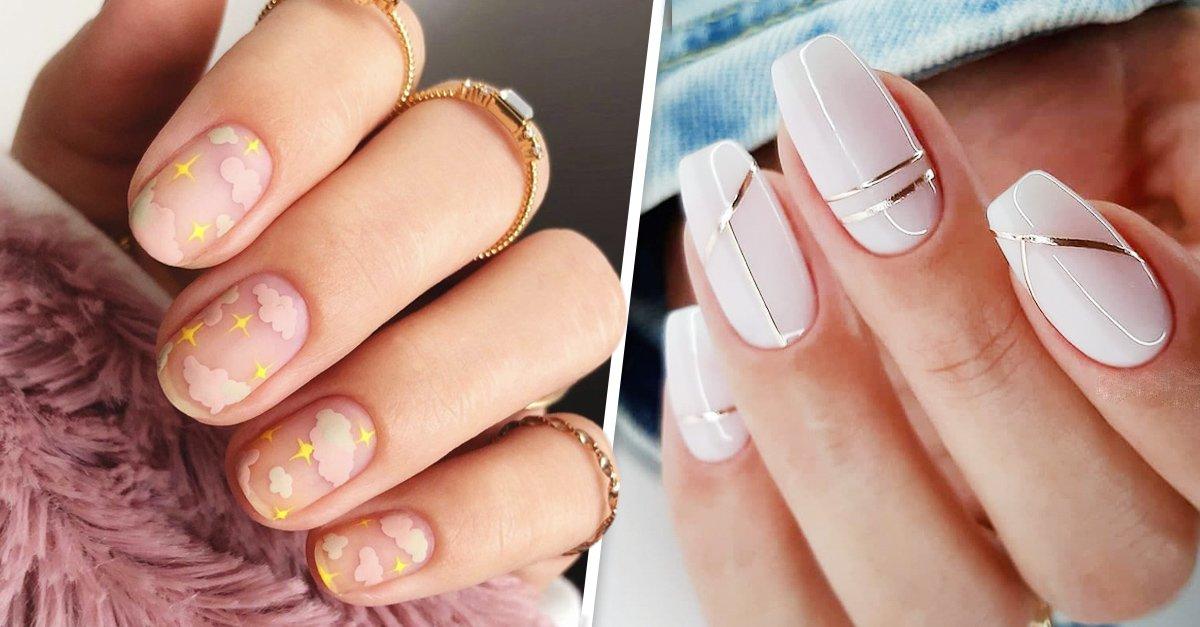 15 Diseños de uñas que evitarán que laves todos los trastes