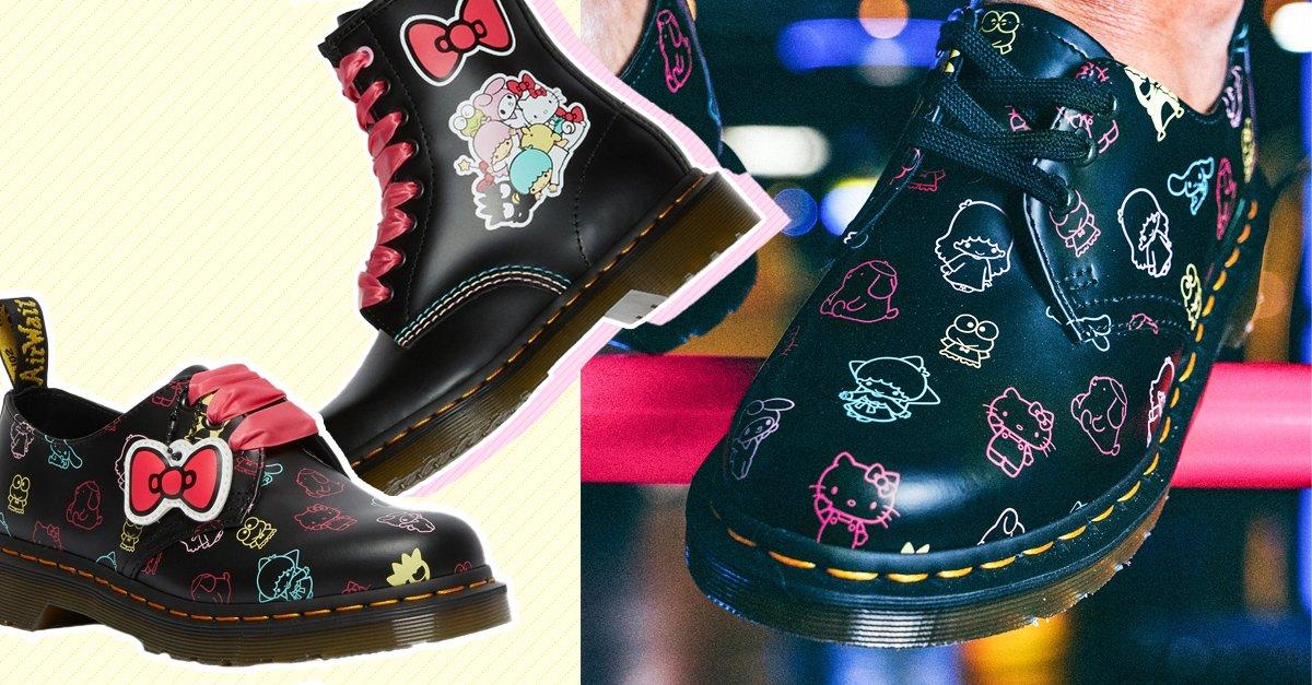 En este momento estás viendo Dr. Martens se une a Hello Kitty con adorable colección
