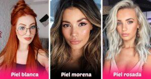 Elige el tinte ideal para tu cabello según tu color de piel