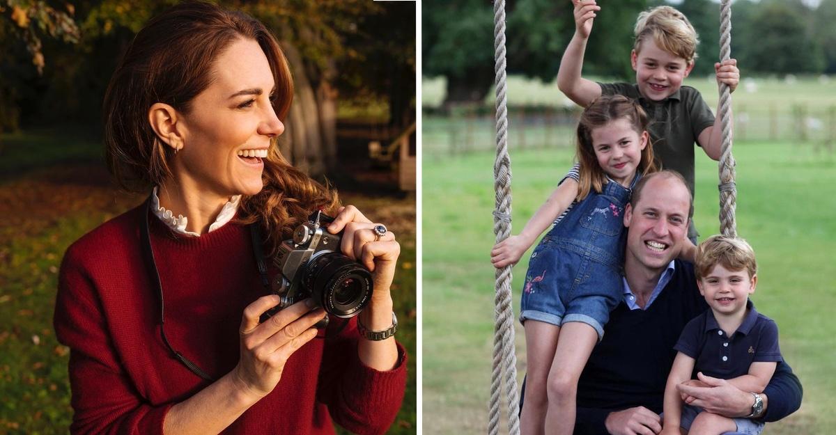 Fotógrafo oficial de los duques alabó los retratos tomados por Kate. La del columpio fue su favorita