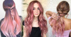 Lee más sobre el artículo 'Gold Pink Hair' el color de cabello que todas desean llevar