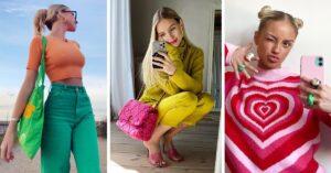 Lee más sobre el artículo Outfits llenos de color para animarte a salir con tus amigas