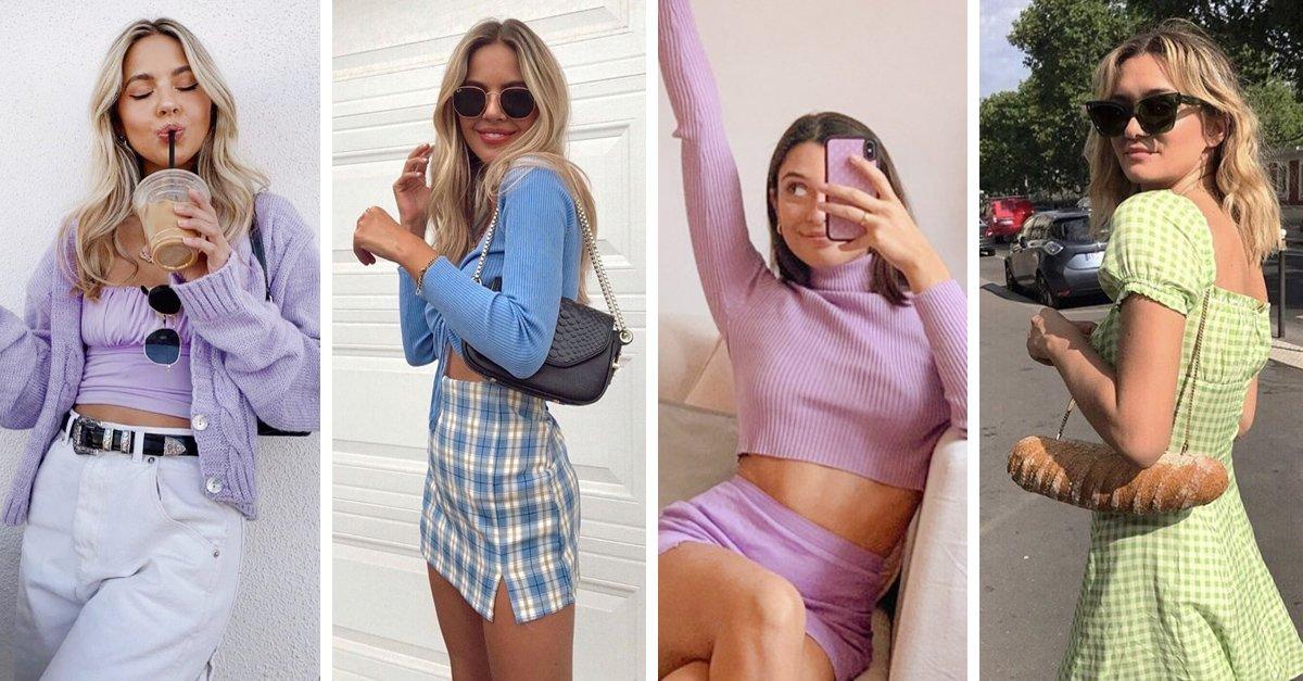 En este momento estás viendo 19 Outfits en tonos pastel para combinar con la primavera