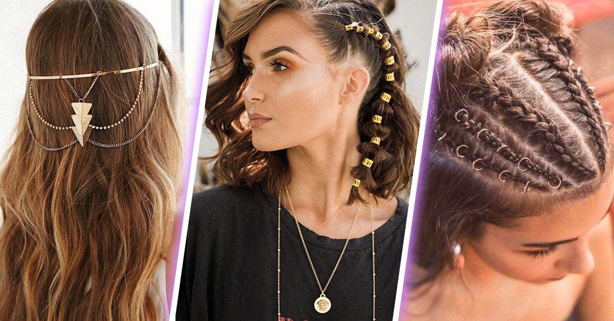 15 Maneras de usar tus accesorios en el cabello y verte superchic