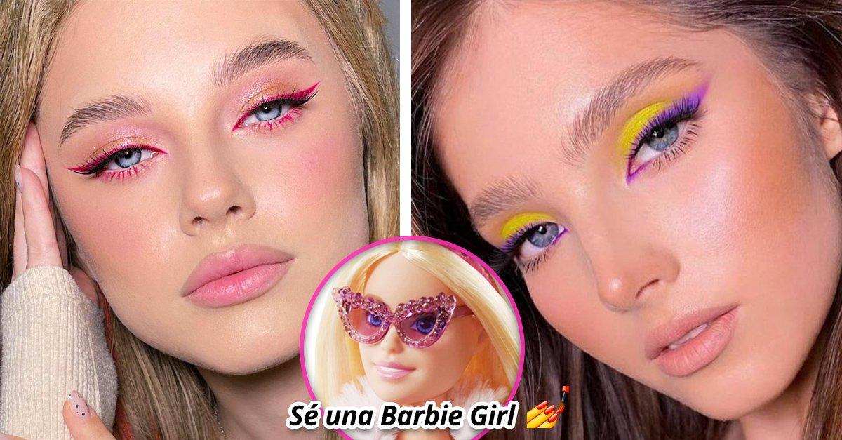 En este momento estás viendo 15 Maquillajes estilo Barbie que no te harán sentir plástica