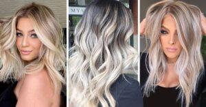 Mechas platinadas, el 'trendy' para un cabello como el sol