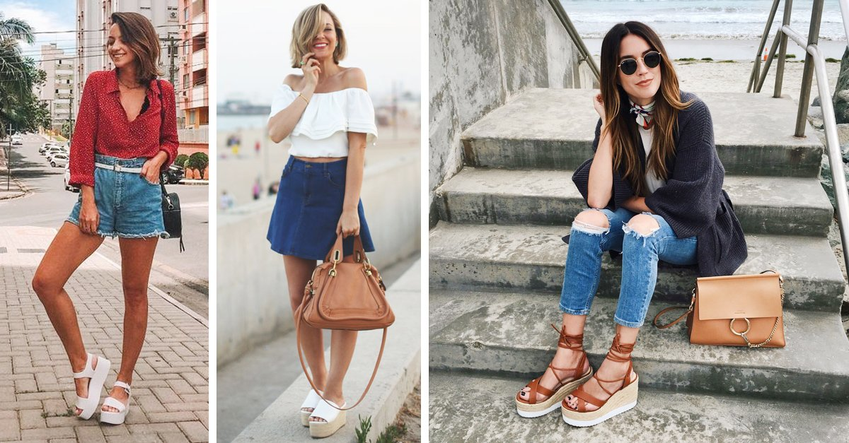 En este momento estás viendo Outfits con sandalias de plataforma para dominar el verano