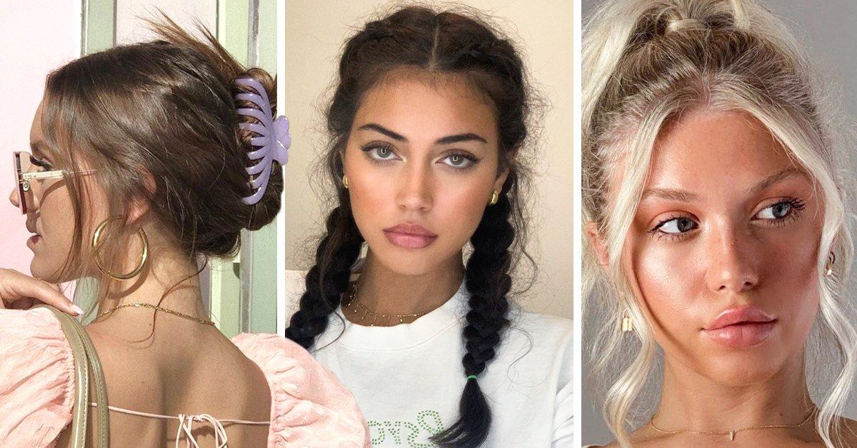 En este momento estás viendo 16 Peinados superfáciles para evitar el calor esta temporada