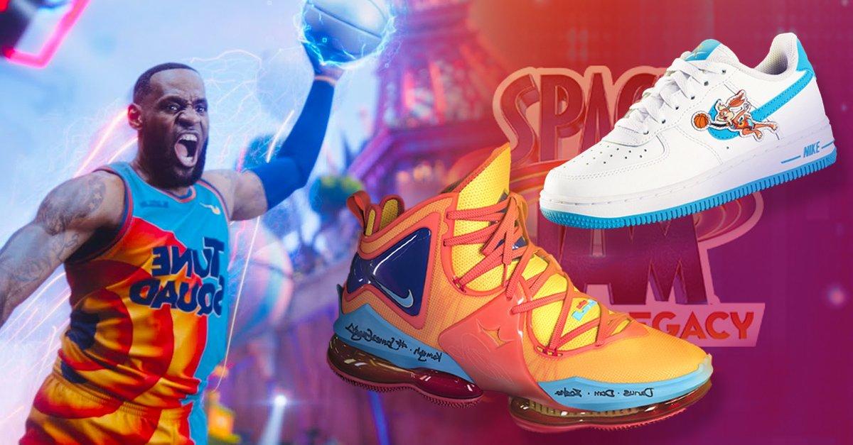 En este momento estás viendo Nike y Converse se unen para lanzar colección de Space Jam 2