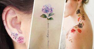Lee más sobre el artículo Tatuajes botánicos para hacer de tu piel un jardín secreto