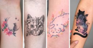 Lee más sobre el artículo 15 Bellos tatuajes de gatitos que te derretirán de ternura