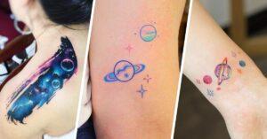 Lee más sobre el artículo Ideas de tatuajes de planetas para llevar el universo cerca
