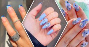 Lee más sobre el artículo 16 Manicuras azules para sentir las nubes entre tus dedos