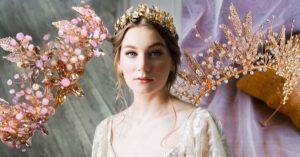 15 Lindas tiaras estilo princesa para deslumbrar en tu boda